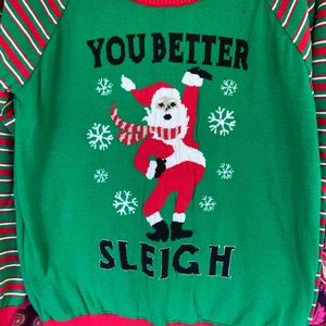 Sweaters - Holiday Santa Christmas Sweater